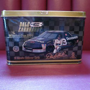NASCAR Other - Dale Earnhardt Sr #3 Embossed Metal Cards 20 w/Tin
